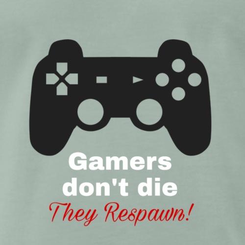 Gamer Hobby Spruch mit Controller - Männer Premium T-Shirt