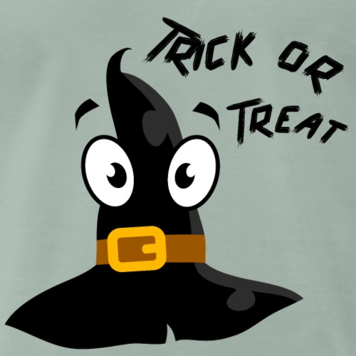 Trick or Treat hat with face - Men's Premium T-Shirt