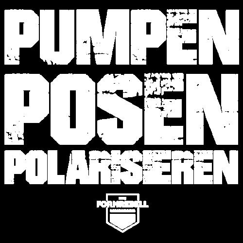 PUMPEN POSEN POLARISIEREN (weiß/weiß) - Männer Premium T-Shirt