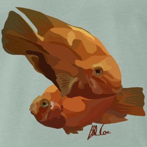 Orange Goldfish - Men's Premium T-Shirt
