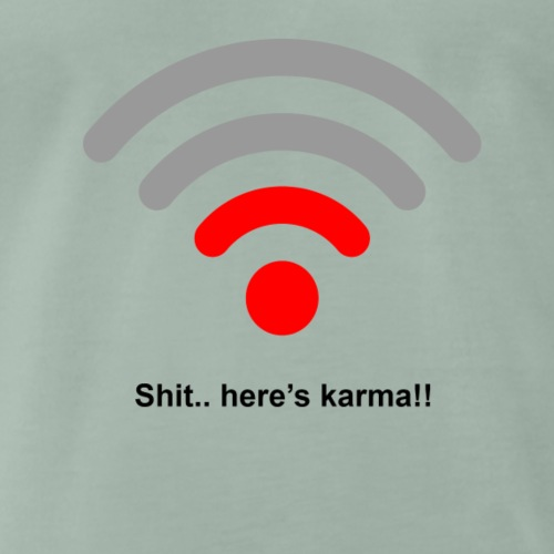 Heres karma - Men's Premium T-Shirt
