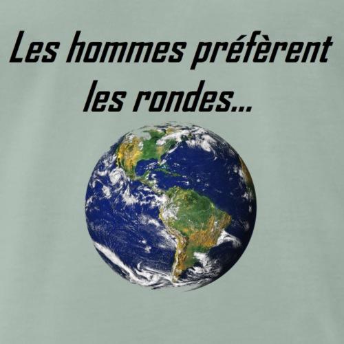 Les hommes préfèrent - T-shirt Premium Homme