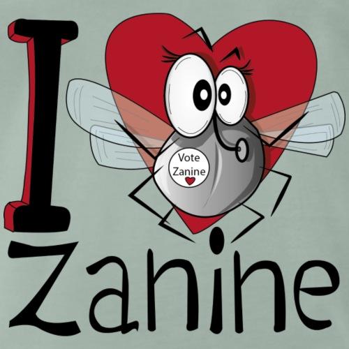 I love Zanine - T-shirt Premium Homme