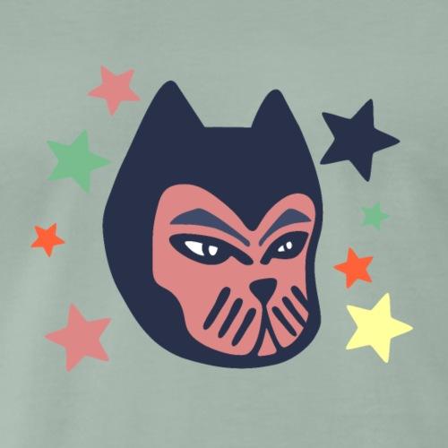 Gato galáctico - Camiseta premium hombre