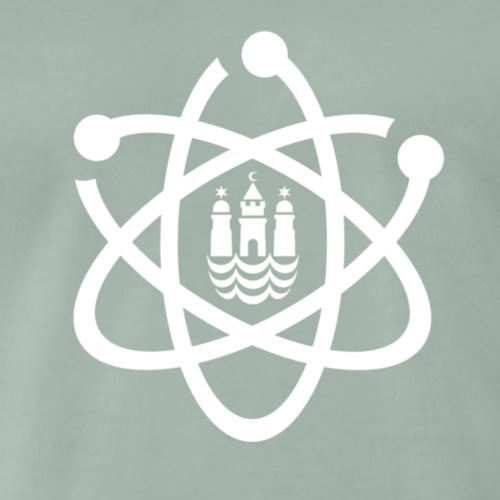 March for Science København logo - Men's Premium T-Shirt