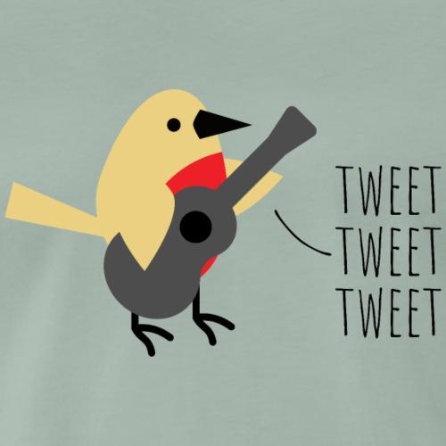 Rockin 'Robin Solo (digital print) - Men's Premium T-Shirt