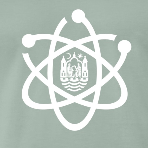 March for Science Aarhus logo - Men's Premium T-Shirt