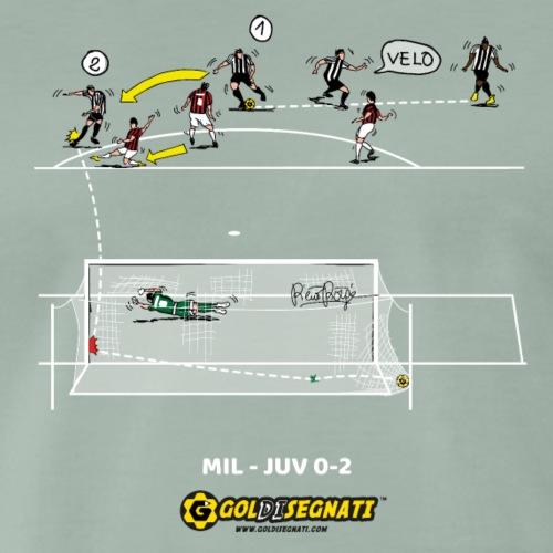 MIL-JUV 0-2 - Maglietta Premium da uomo