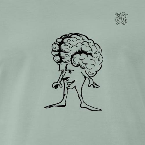 Cervello - Maglietta Premium da uomo