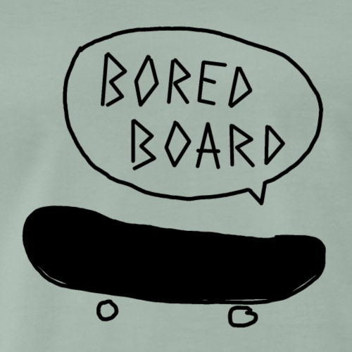 Bored Board Skateboard - Männer Premium T-Shirt