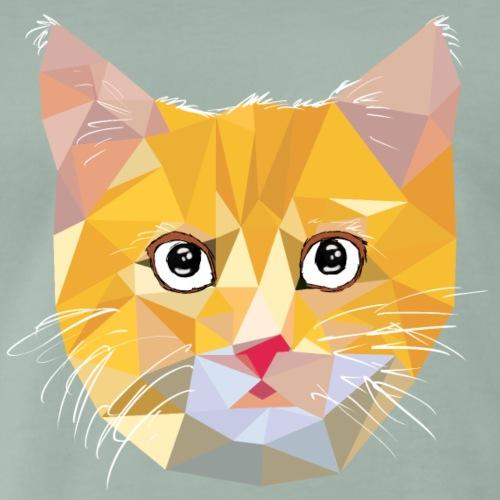 Tête de chat oui mais stylée ! - T-shirt Premium Homme
