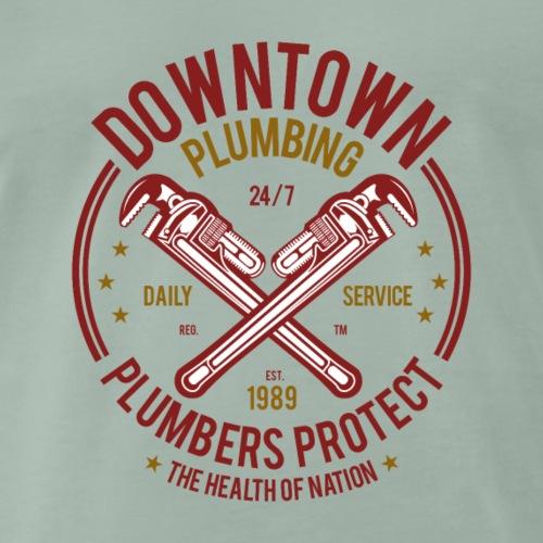 Downtown Plumbing - Männer Premium T-Shirt