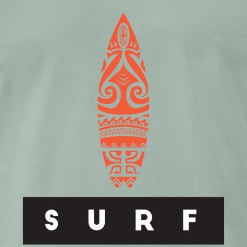Surfing Hero by Te-Moana - Männer Premium T-Shirt