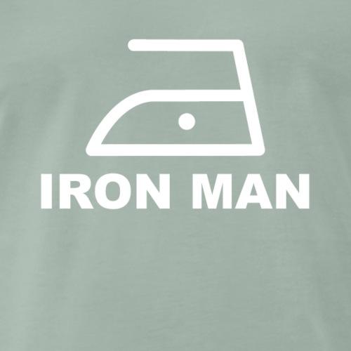 Hausmann Bügeleisen Iron Man - Männer Premium T-Shirt