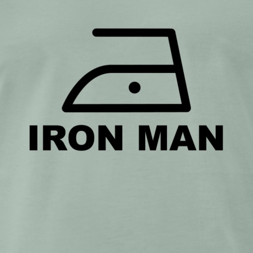 Bügeleisen Iron man hausmann - Männer Premium T-Shirt