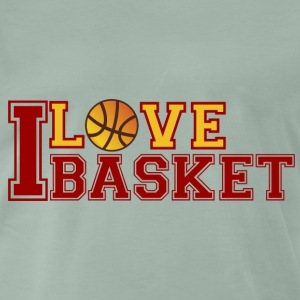 Love-Basketball - Men's Premium T-Shirt
