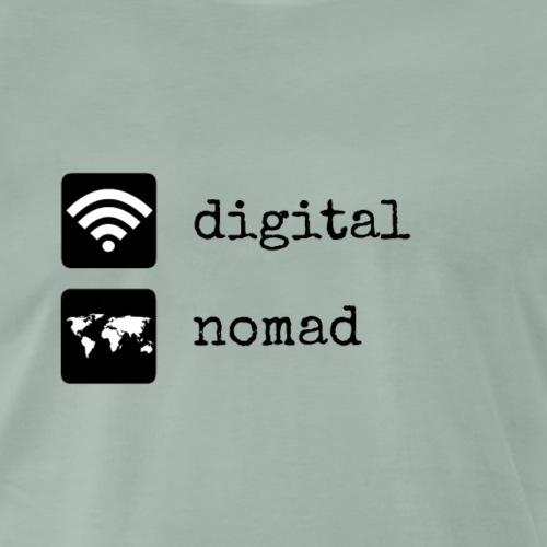 Digital Nomad Design für alle Weltenbummler - Männer Premium T-Shirt