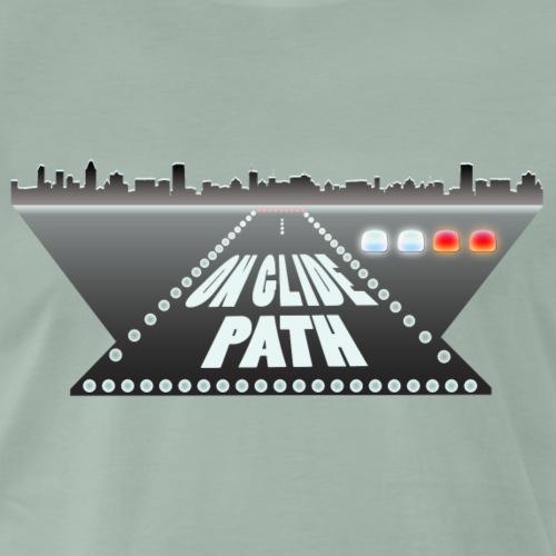 Pilot: On Glide Path - Männer Premium T-Shirt