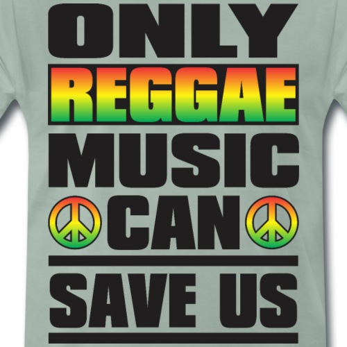Only Reggae Music - T-shirt Premium Homme
