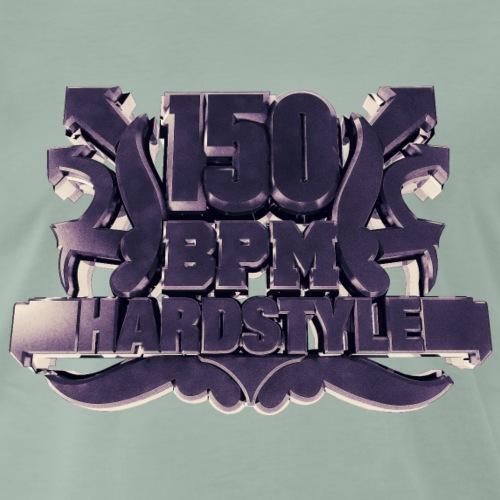 150 BPM Hardstyle 1 - Männer Premium T-Shirt