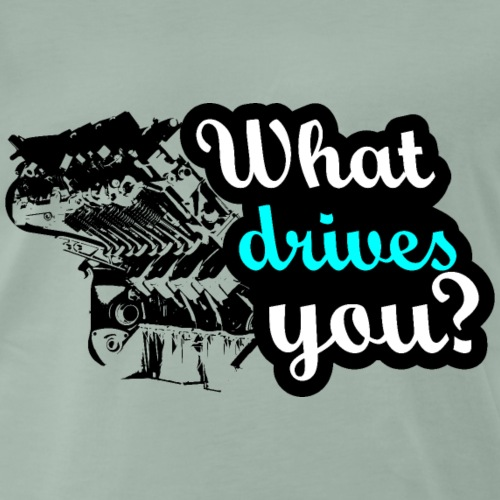 What drives you? - Männer Premium T-Shirt