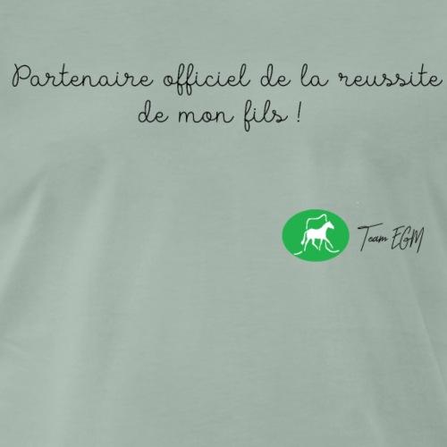 Partenaire officiel de mon fils ! - T-shirt Premium Homme