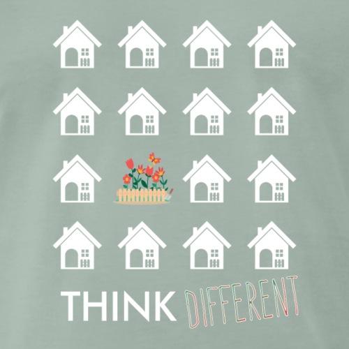 Think Different - geh in den Garten! - Männer Premium T-Shirt