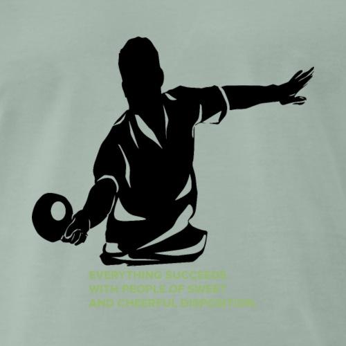 Alles gelingt Ping Pong spielen - Männer Premium T-Shirt