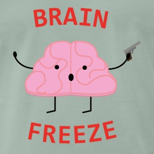Brain Freeze - T-shirt Premium Homme