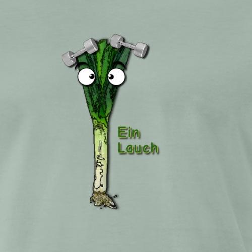 Ein Lauch - Männer Premium T-Shirt
