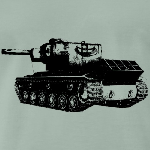Schwerer Panzer KV-2 - Männer Premium T-Shirt