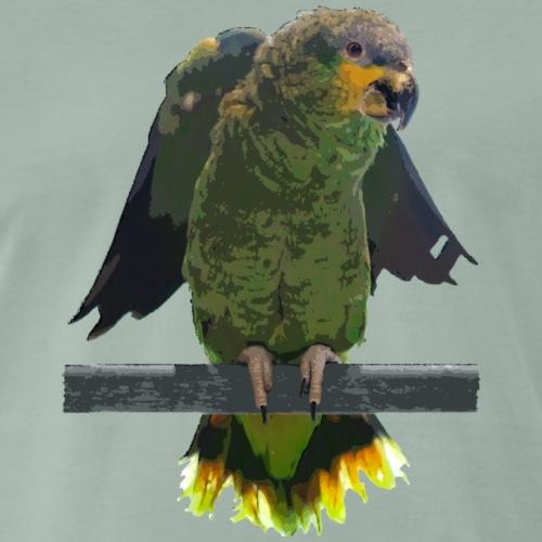Papagei Venezuela Amazone - Männer Premium T-Shirt