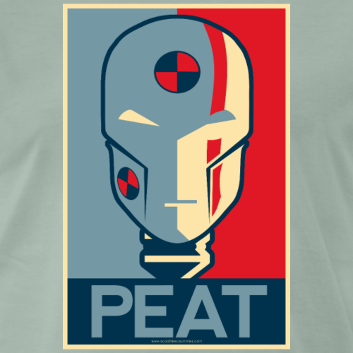 Scotch Test Dummies - Peat Dummy - Men's Premium T-Shirt