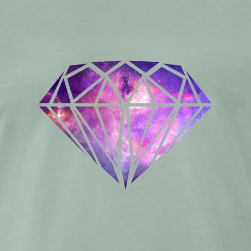 diamond luxury 3 - Camiseta premium hombre