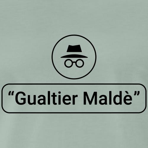 Rigoletto: Duca — Incognito (outline) - Männer Premium T-Shirt