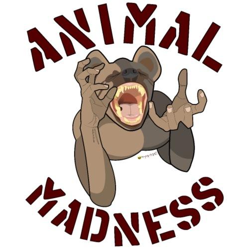 Locura animal - Camiseta premium hombre