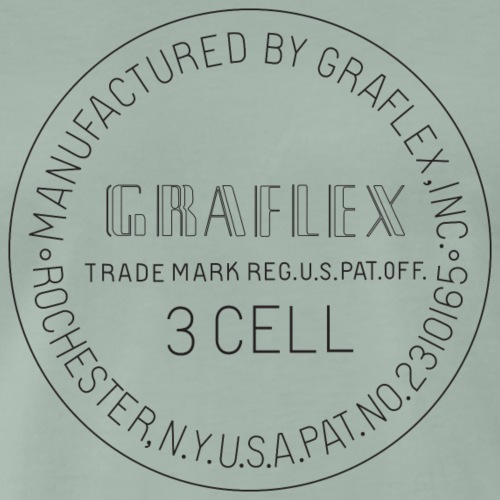 Graflex Stamp black - Männer Premium T-Shirt