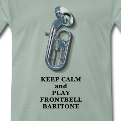 Frontbell baritone player - Mannen Premium T-shirt