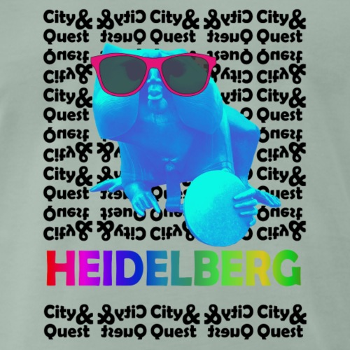 City&Quest Heidelberg - Männer Premium T-Shirt
