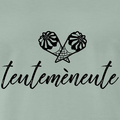Quotes3 TeuteMeNeute - Mannen Premium T-shirt