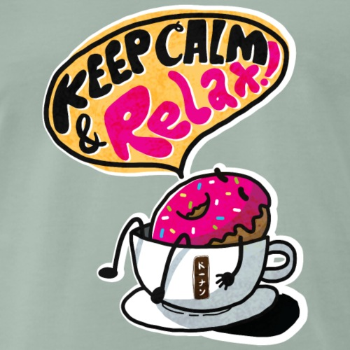 Keep calm and relax t-shirt - Men's Premium T-Shirt