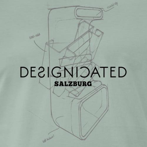 Designicated Salzburg schwarz - Männer Premium T-Shirt