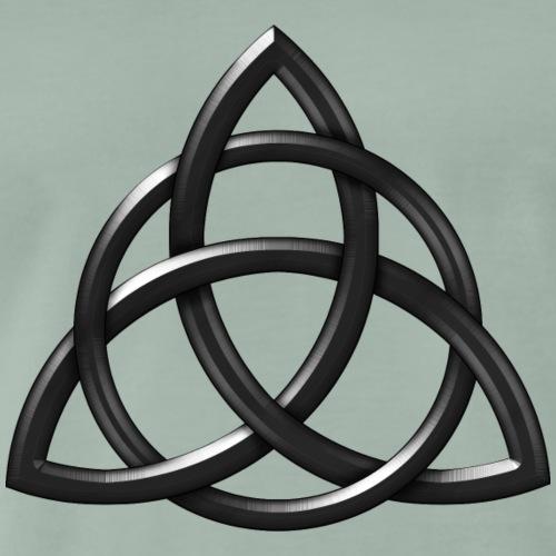 Celtic Knot Rough Chisell - Men's Premium T-Shirt