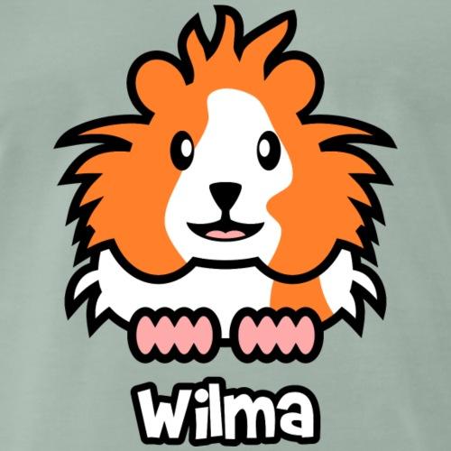 Meerschweinchen Wilma - Männer Premium T-Shirt