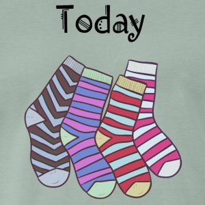 Today Socks! - Männer Premium T-Shirt