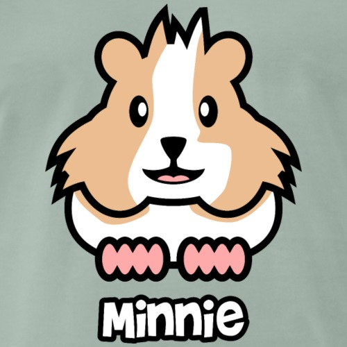 Minnie Meerschweinchen Design - Männer Premium T-Shirt