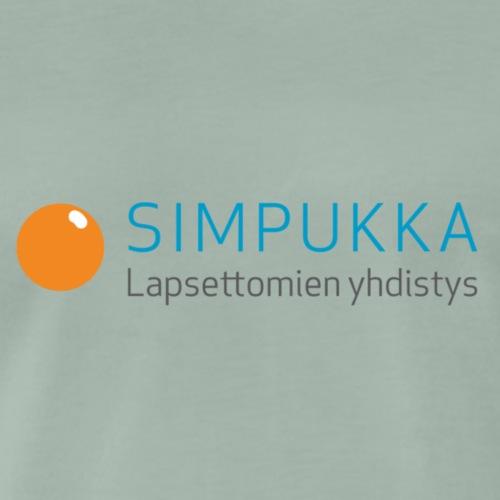Simpukka logo - Miesten premium t-paita