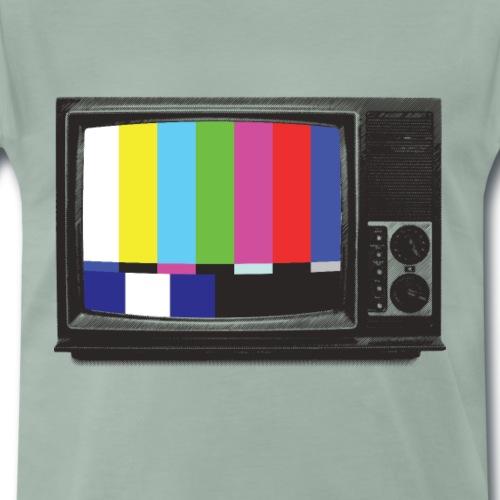 RETRO TV - Premium-T-shirt herr