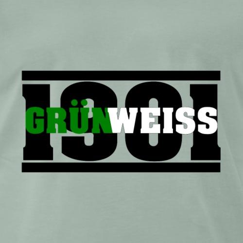 1901 Grün Weiss - Männer Premium T-Shirt