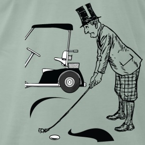 golf - Mannen Premium T-shirt